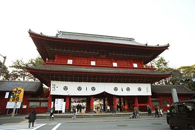歴代徳川将軍の菩提寺