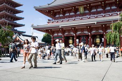 東京都内にある最古のお寺